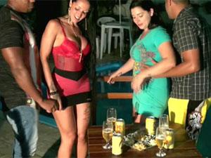 Atrizes Brasileiras na putaria depois do churrasco