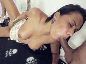 Boquete da Brasileira moreninha bem safada