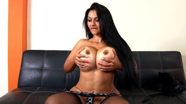 Sexy long haired striptease long hair hairstyle hairplay - 4 5